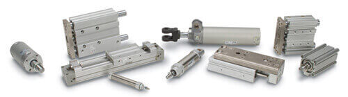 Air Cylinder and Actuators Hero Image