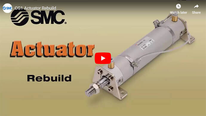 CG1 Actuator Rebuild Procedure