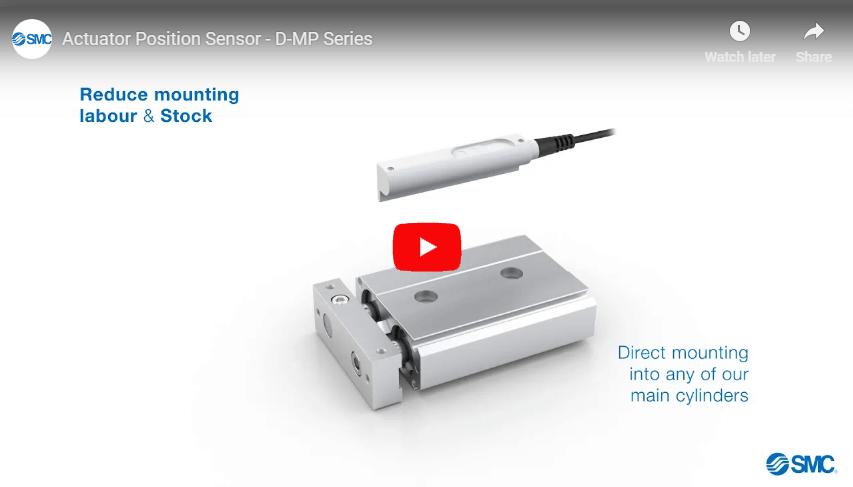 Actuator Position Sensor, D-MP Series