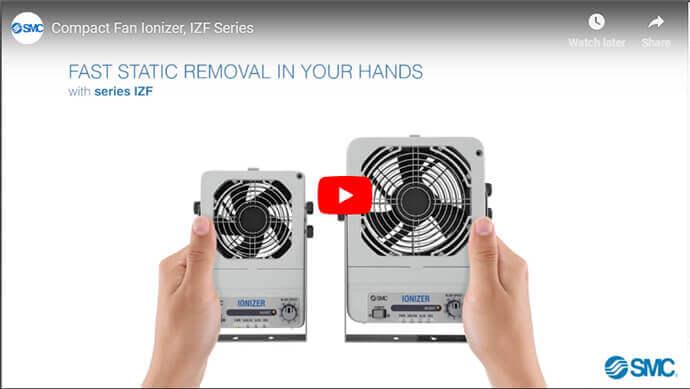 Compact Fan Ionizer, IZF Series