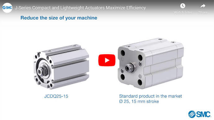 J-Series Compact and Lightweight Actuators