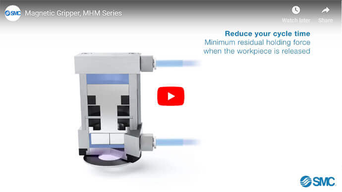 Magnetic Gripper, MHM Series