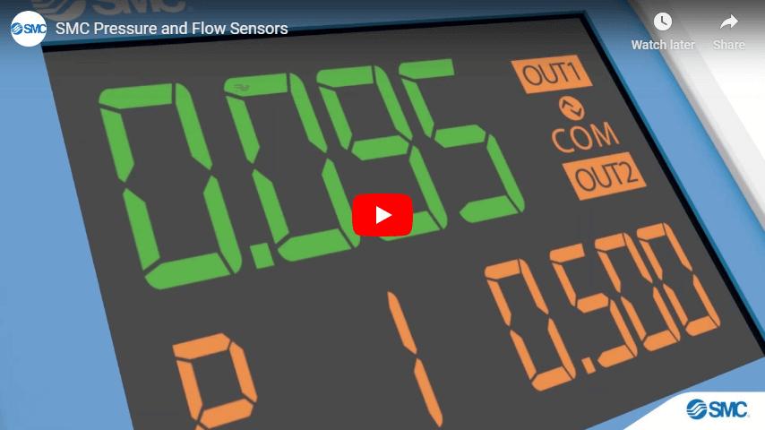 SMC Pressure and Flow Sensors