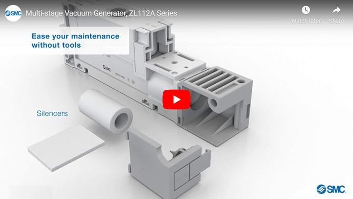 Multi-stage Vacuum Generator, ZL112A Series