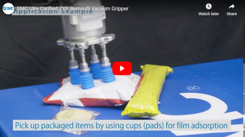 ZXP UR+ Cerified Bernoulli Vacuum Gripper