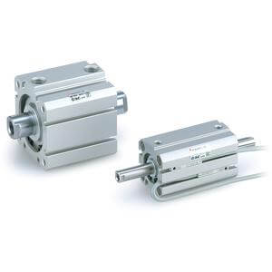 NC(D)Q8W, Compact Cylinder, Double Acting, Double Rod
