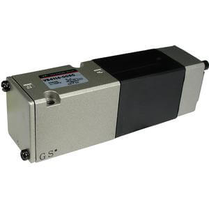 VS4000, 5 Port Solenoid Valve, Direct Operated, Metal Seal