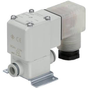 VX2*0, Single Unit, Direct Operated 2 Port Solenoid Valve for Air