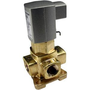 VXA31/32 Single Unit, Air Operated 3 Port Solenoid Valve