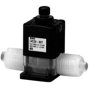 LVC23, High Purity Suck Back Valve, Single or Unit Type