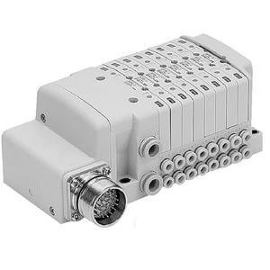 SS0750 Plug-in Stacking Manifold, Circular Connector, M Kit