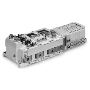 SS0750 Manifold for Series EX600 Integrated (I/O) Serial Transmission System (Fieldbus)