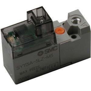 10-SY100A, Large Flow 3 Port Valve for Manifold Types 30, 31 & S42, Clean Series