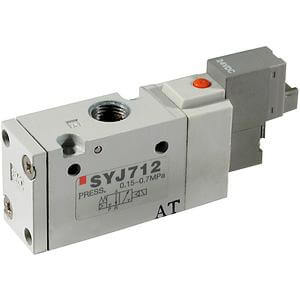 10-SYJ700 3 Port Solenoid Valve, for Manifold Types 20, 21, 40, 42 Clean Series