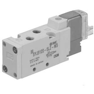 10-SYJ5000 Valve, 5 Port for Manifold Type 20P/41P/43P, Clean Series
