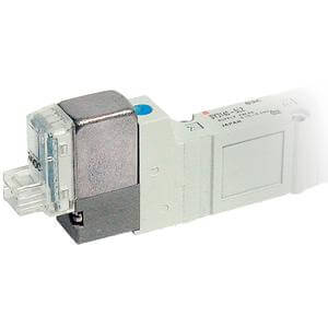 10-SY3/5/7/9*20, 5 Port, Body Ported Valve, Single Unit, Clean Series