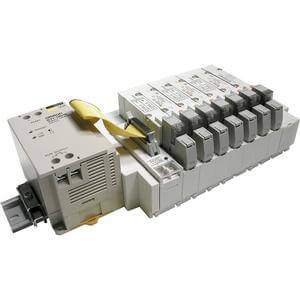 SS5Y5-45S3, 5000 Series, Stacking Manifold, DIN Rail Mount, Omron G71 Serial Unit