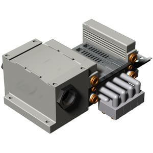 VV5Q21-**T-W, Manifold Base Series, Terminal Box, IP65 Protection