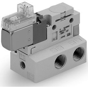 VQZ115, 100 Series,  3 Port Solenoid Valve, Base Mounted