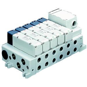 VV5Q41-T, 4000 Series, Base Mounted Manifold, Plug-in, Terminal Box