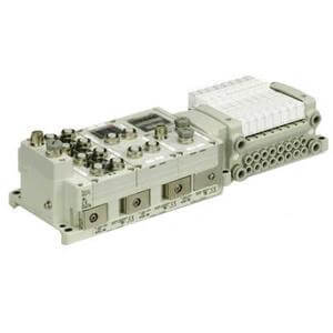 VV5QC41-SD6, 4000 Series, Base Mounted Manifold, Plug-in, Serial Transmission, Fieldbus System (EX600)