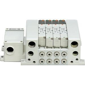 VV5QC11-T, 1000 Series, Base Mounted Manifold, Plug-in, Terminal Block
