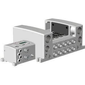 VV5QC41-**S*, Base Mounted, Plug-in Unit, I/O Serial Transmission Unit (EX250)