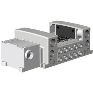VV5QC51-**TD0, Base Mounted, Plug-in Unit, Terminal Block Box