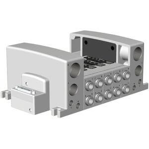 VV5QC41-**FD*, Base Mounted, Plug-in Unit, D-Sub Connector