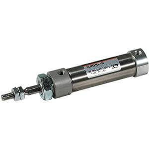 C(D)J2K, Air Cylinder, Non-rotating, Double Acting, Single Rod