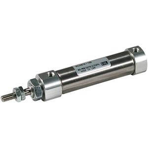 C(D)J2Q, Air Cylinder, Double Acting, Single Rod, Low Friction