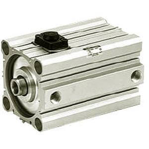 C(D)BQ2, Compact Cylinder, Double Acting, Single Rod, End Lock