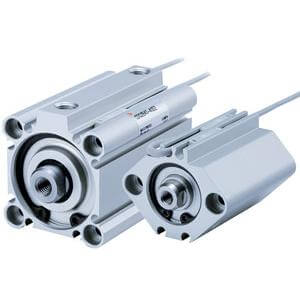 NC(D)Q2-Z, Compact Cylinder,  Double Acting, Single Rod