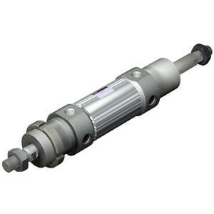 C(D)76W, Air Cylinder, Double Acting, Double Rod