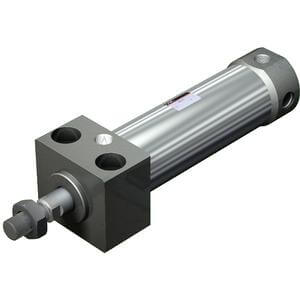 C(D)76R, Air Cylinder, Direct Mounting, Double Acting, Single Rod