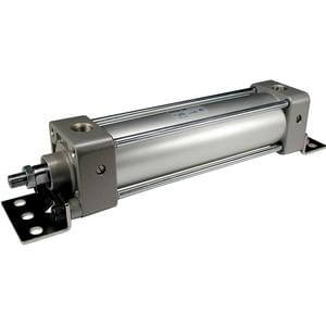 NC(D)A1K, NFPA, Air Cylinder, Double Acting, Single Rod, Non-rotating