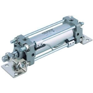 C(D)BA2, Air Cylinder, Double Acting, Single Rod, End Lock