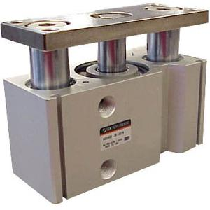 MGQL, Compact Guided Cylinder, Ball Bushing Bearing