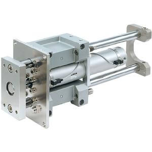 MGG-H/R, Standard External Guided Cylinder with End Lock