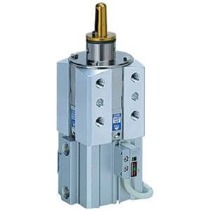 C(L)KQG*, Pin Clamp Cylinder, Built-in Standard Magnet