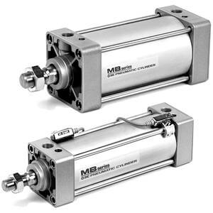 M(D)BQ, Air Cylinder, Low Friction, Single Rod