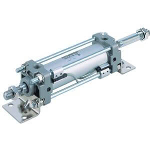 C(D)A2KW, Air Cylinder, Non-Rotating, Double Acting Double Rod