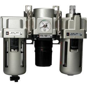 AC10-60, Modular Type, Air Filter/Regulator, Lubricator