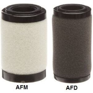 Replacement Element Assembly for AFD and AFM Mist Separators