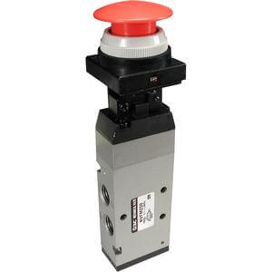 VFM200, 5 Port Mechanical Valve, Metal Seal, Metric