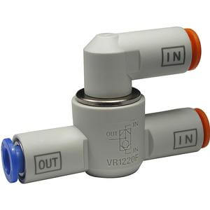 VR12*0F, Shuttle Valve with One-touch Fitting Series