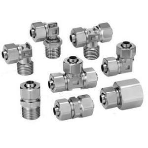 KFG2, Stainless Steel 316 Insert Fittings, Inch Size (NPT Threads)