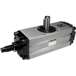 C(D)RA1*50-100, Rotary Actuator, Rack & Pinion, Angle Adjustable