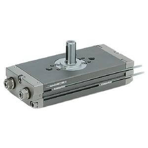 C(D)RQ2XB, Low-Speed Compact Rotary Actuator, Rack & Pinion