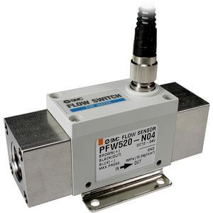 PF2W5**, Digital Flow Switch for Water, Remote Type Sensor